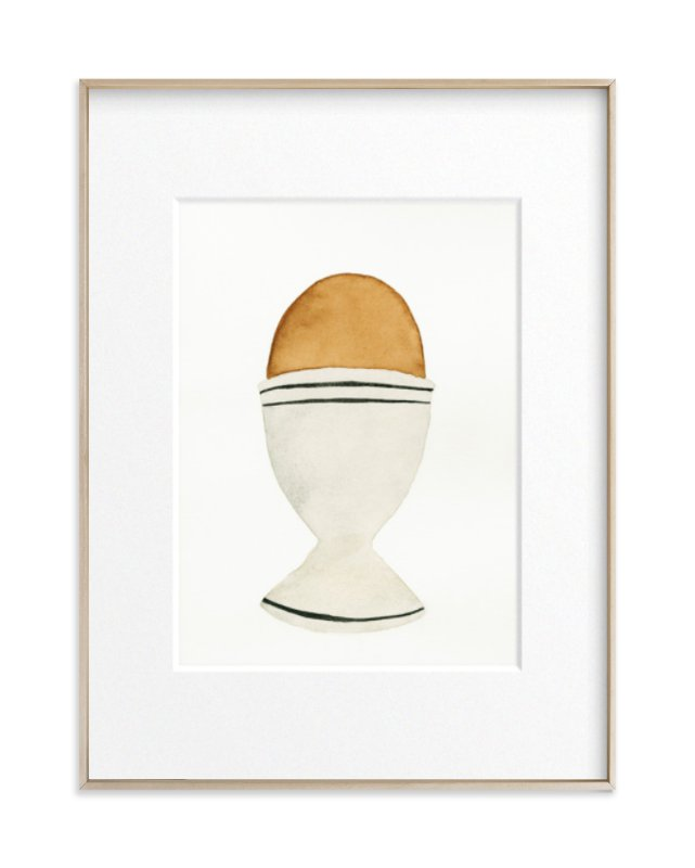 The Humble Egg Art Print