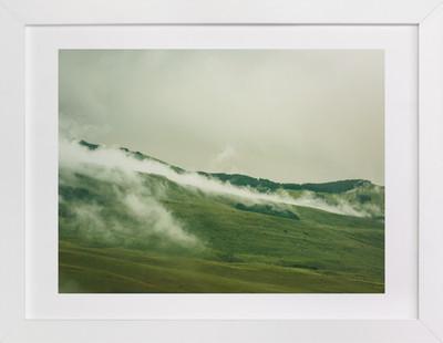 As the Fog Creeps In Art Print
