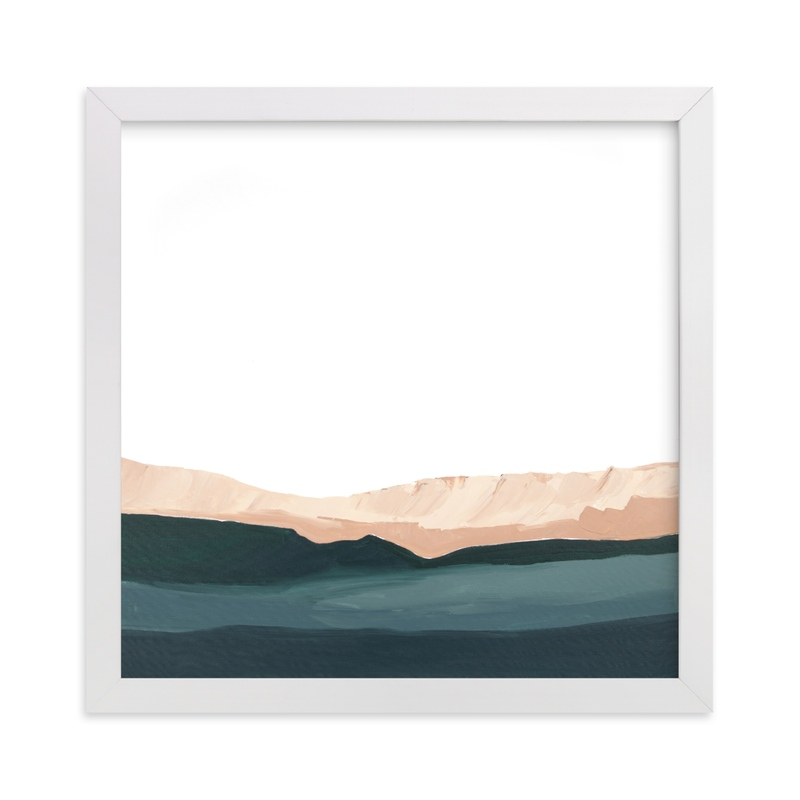 """""""Santa Cruz Seascape #2"""" - Limited Edition Art Print by Caryn Owen in beautiful frame options and a variety of sizes."""
