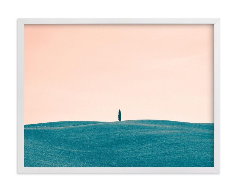 Tuscan Hills 01 Art Print