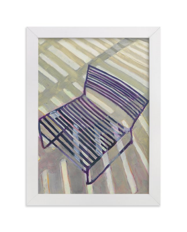 """""""Chair from my Childhood"""" - Limited Edition Art Print by Caitlin Winner in beautiful frame options and a variety of sizes."""