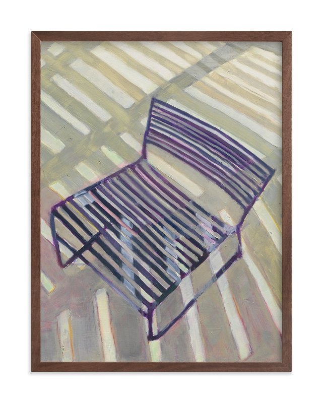 Chair from my Childhood Art Print