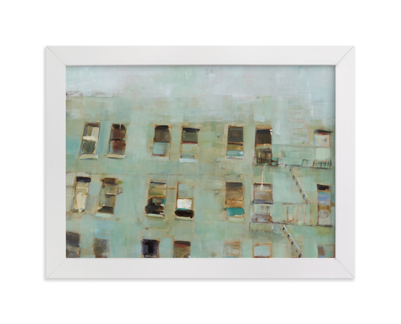 """Windows"" - Limited Edition Art Print by Hadas Tal in beautiful frame options and a variety of sizes."