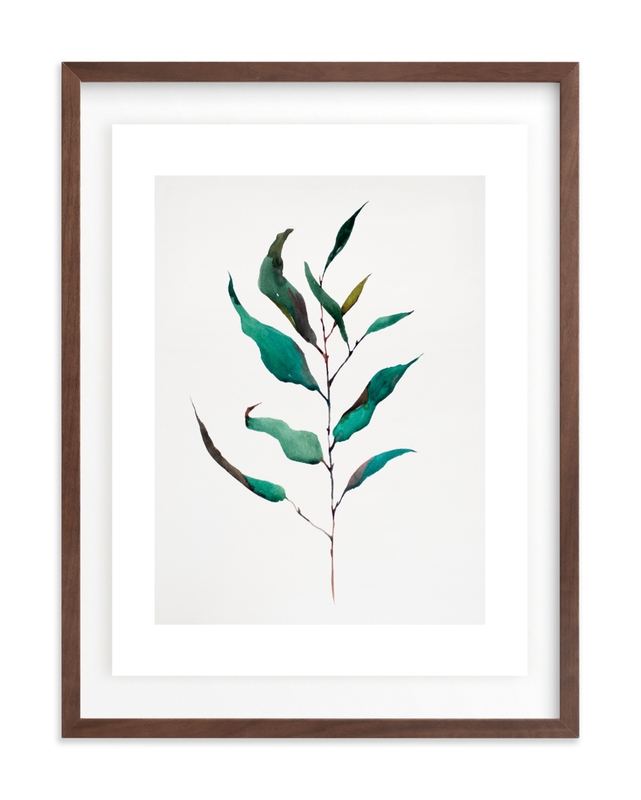 Eucalyptus Foliage Art Print