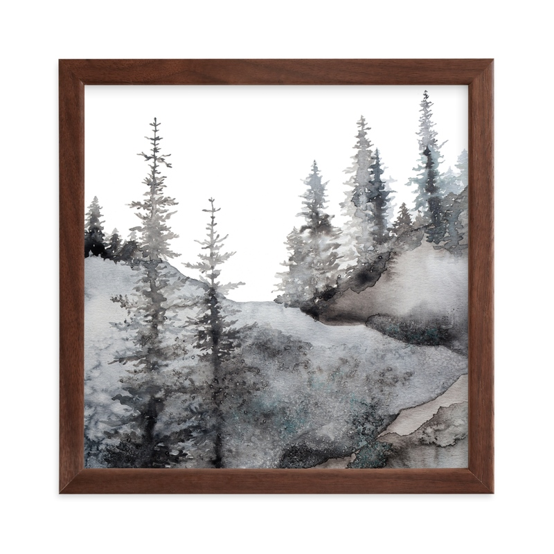 """""""Timberline"""" - Limited Edition Art Print by Katy Abraham in beautiful frame options and a variety of sizes."""