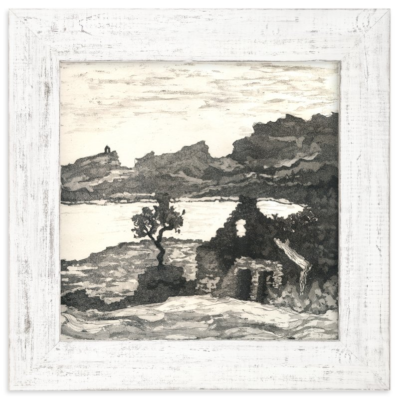 """""""The Melancholy of Stones"""" - Limited Edition Art Print by Eva Marion in beautiful frame options and a variety of sizes."""