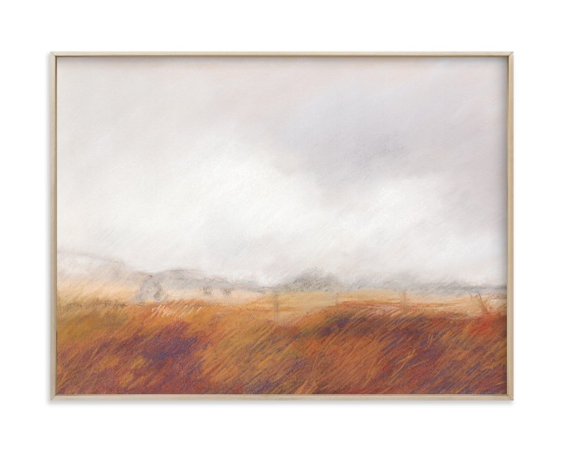 """""""Amber Waves"""" - Limited Edition Art Print by Lorent and Leif in beautiful frame options and a variety of sizes."""