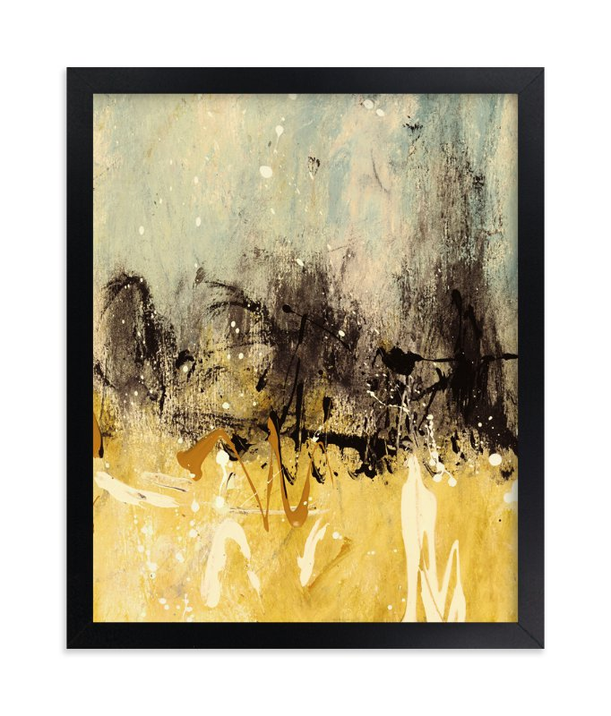 """""""Bon Voyage I"""" - Limited Edition Art Print by Carmen Guedez in beautiful frame options and a variety of sizes."""
