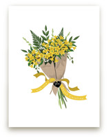 South Carolina Jessamine Bouquet Art Prints