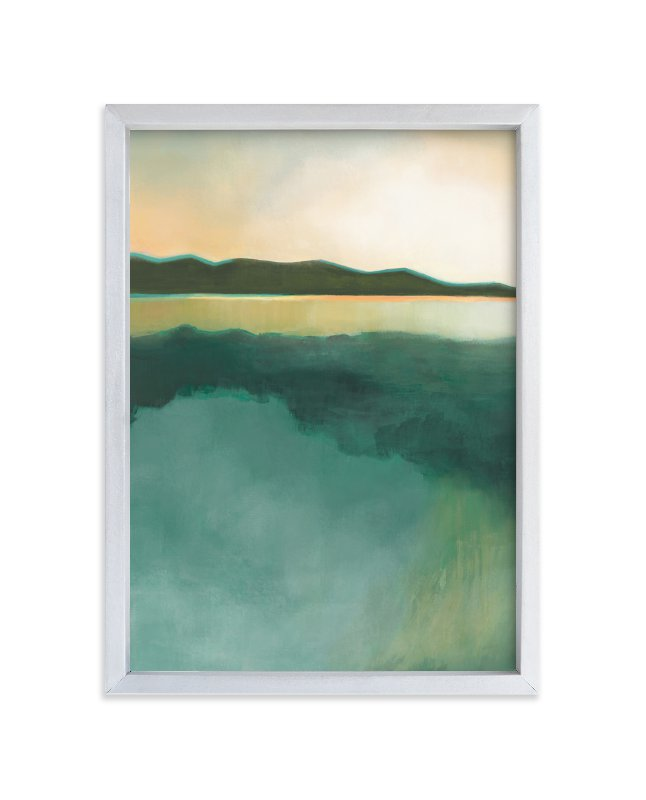 """Tranquil Harbor"" - Limited Edition Art Print by Alison Jerry Designs in beautiful frame options and a variety of sizes."