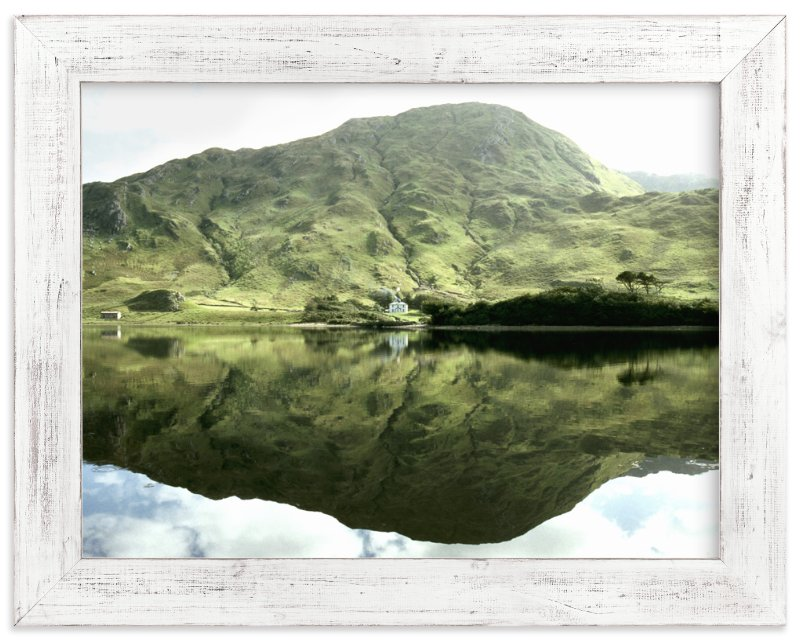 """Green Reflections Connemara Ireland"" - Limited Edition Art Print by Eva Marion in beautiful frame options and a variety of sizes."