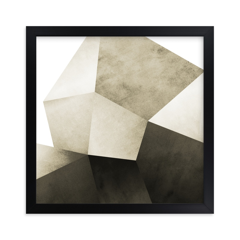 """""""Lemurian Facets One"""" - Limited Edition Art Print by Hannah Lipking in beautiful frame options and a variety of sizes."""