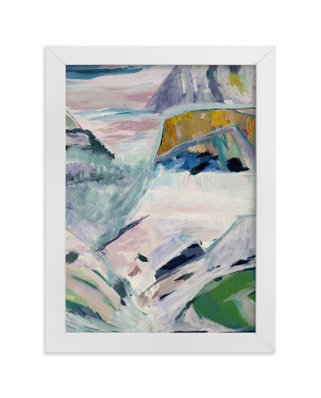 """""""HOB Landscape 1"""" - Limited Edition Art Print by Caryn Owen in beautiful frame options and a variety of sizes."""