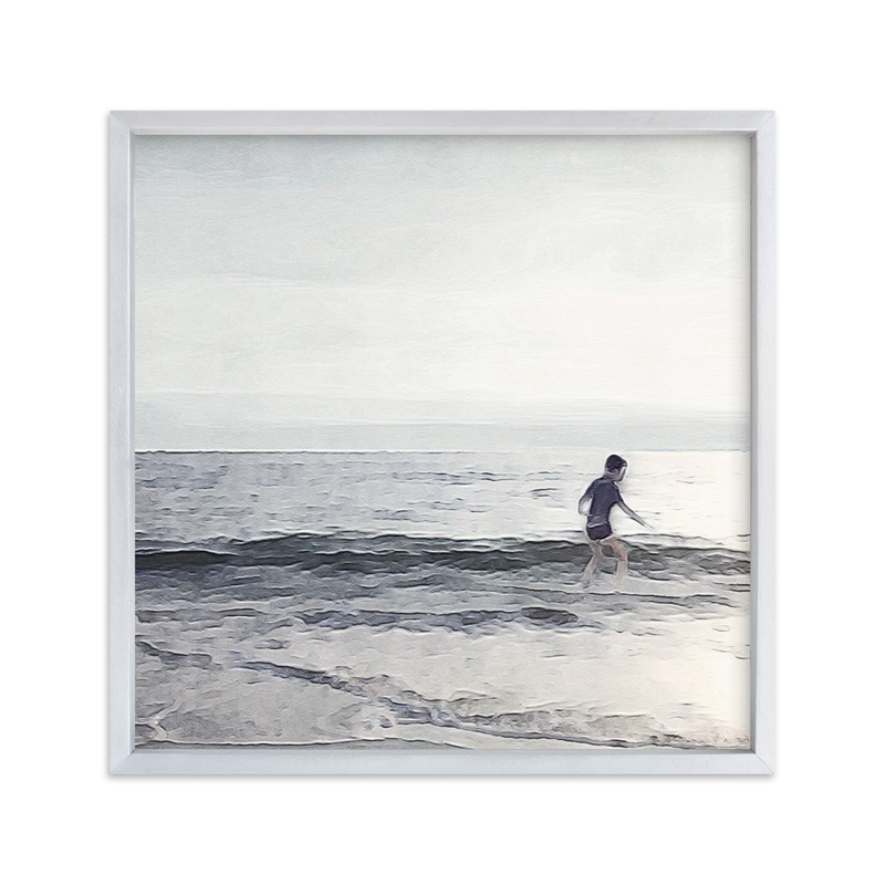 """Lucy in the Surf and Diamonds"" - Limited Edition Art Print by Maja Cunningham in beautiful frame options and a variety of sizes."