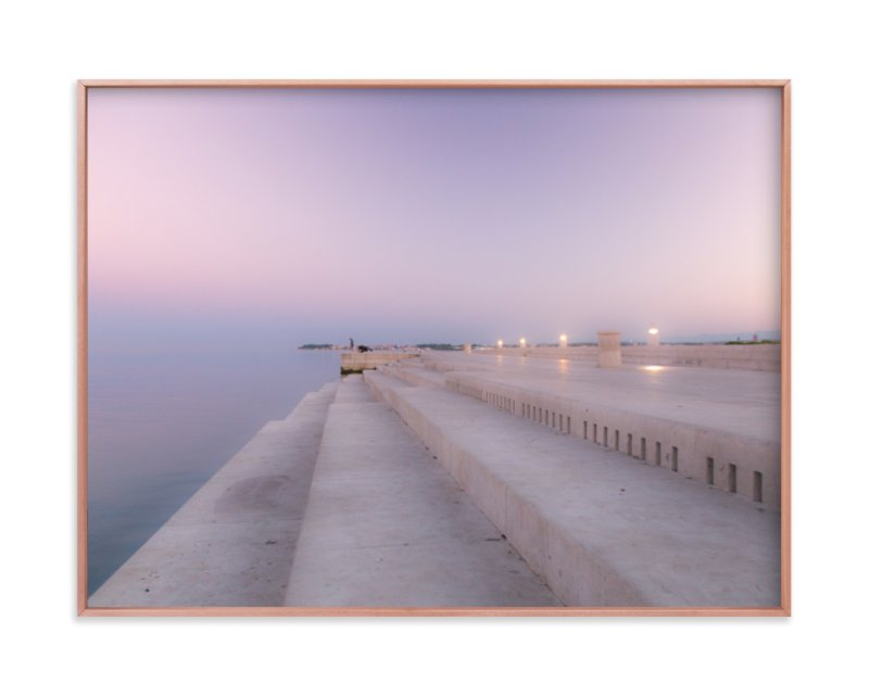 """""""Sea organ"""" - Limited Edition Art Print by MengI Shen in beautiful frame options and a variety of sizes."""