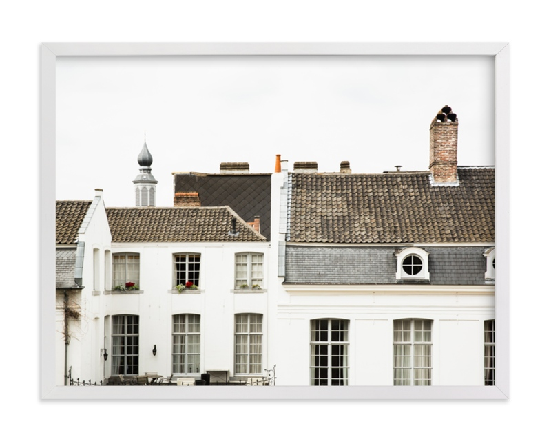 """Ghent"" - Limited Edition Art Print by Heather Deffense in beautiful frame options and a variety of sizes."