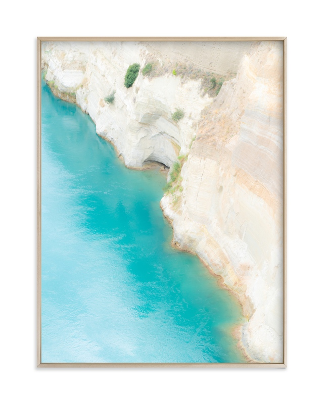 """Dive In"" - Limited Edition Art Print by Courtney Crane in beautiful frame options and a variety of sizes."
