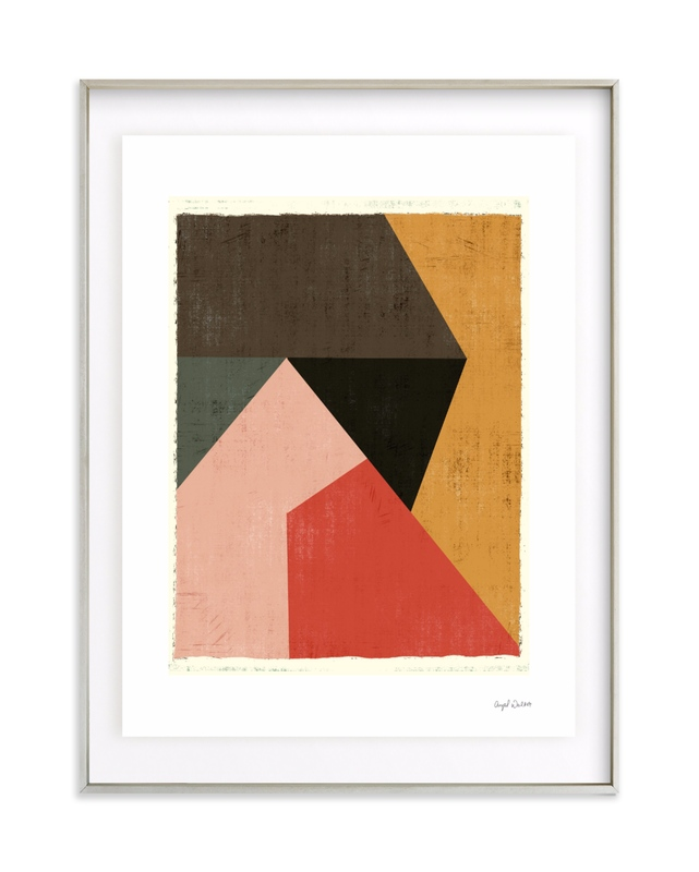 Geo Abstract Art Print