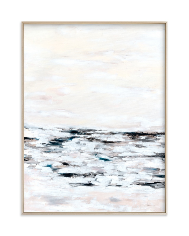 """""""Faded Fury Diptych II"""" - Limited Edition Art Print by Nicoletta Savod in beautiful frame options and a variety of sizes."""
