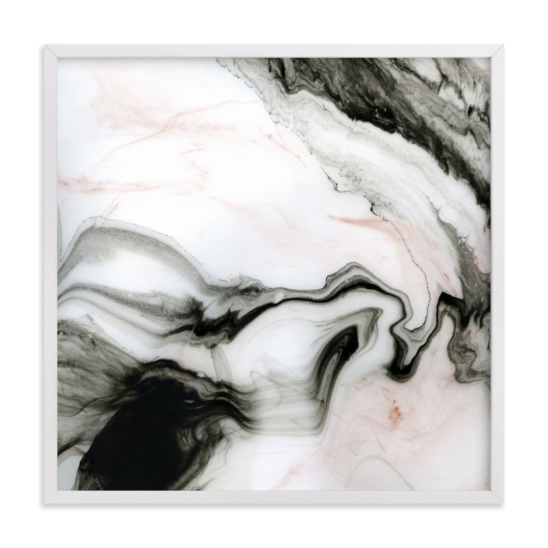 """""""Ethereal Marble"""" - Limited Edition Art Print by Melanie Severin in beautiful frame options and a variety of sizes."""