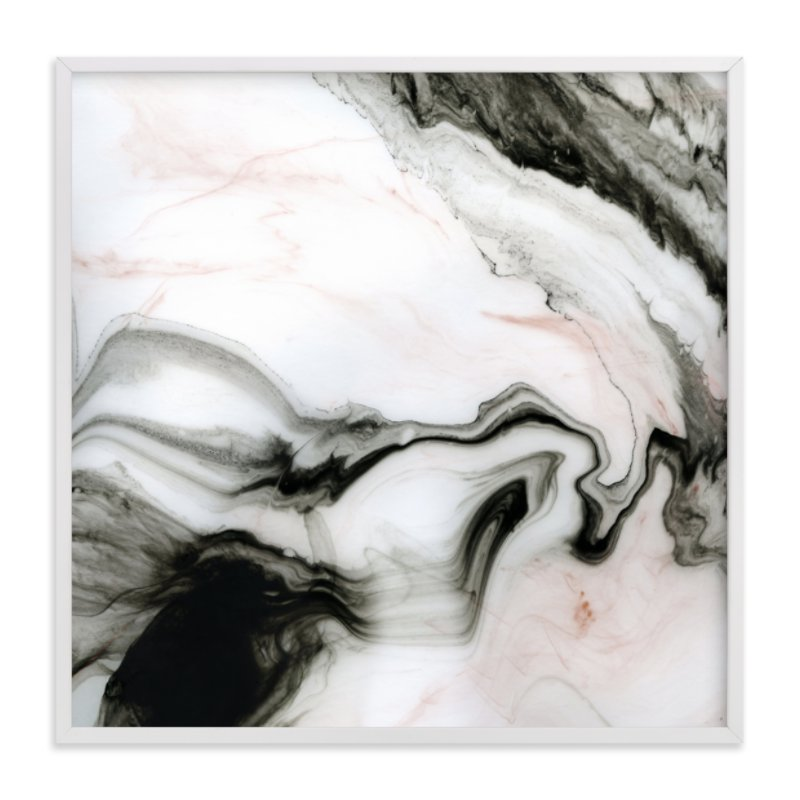 """Ethereal Marble"" - Limited Edition Art Print by Melanie Severin in beautiful frame options and a variety of sizes."