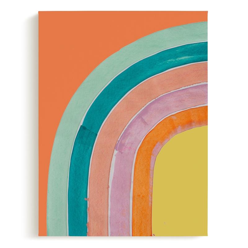 Sherbert Rainbow Art Print