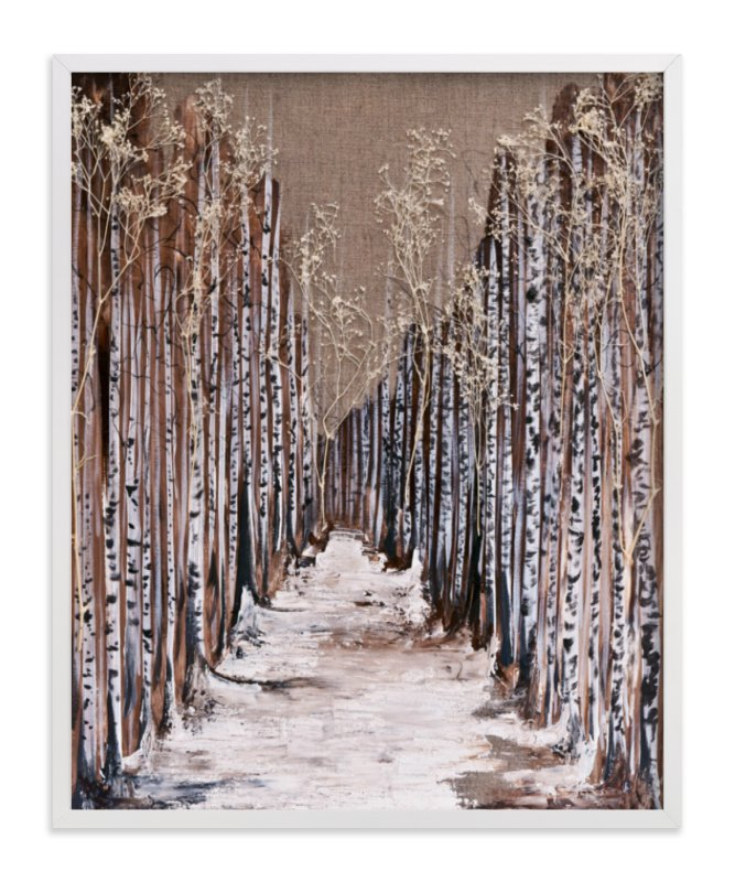 """Aspen Grove"" - Limited Edition Art Print by Emily Magone in beautiful frame options and a variety of sizes."