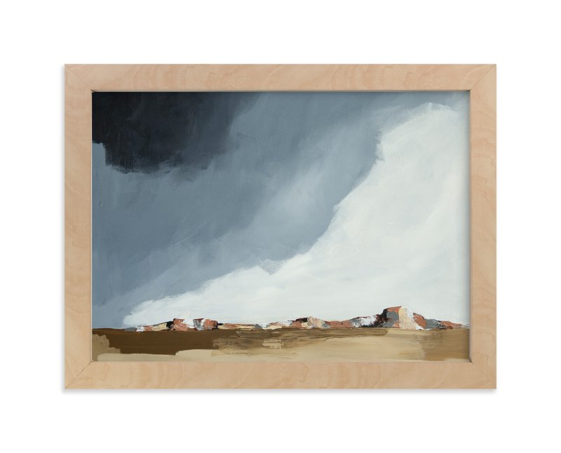 """Dusk In The Chisos"" - Limited Edition Art Print by Kati Ramer in beautiful frame options and a variety of sizes."