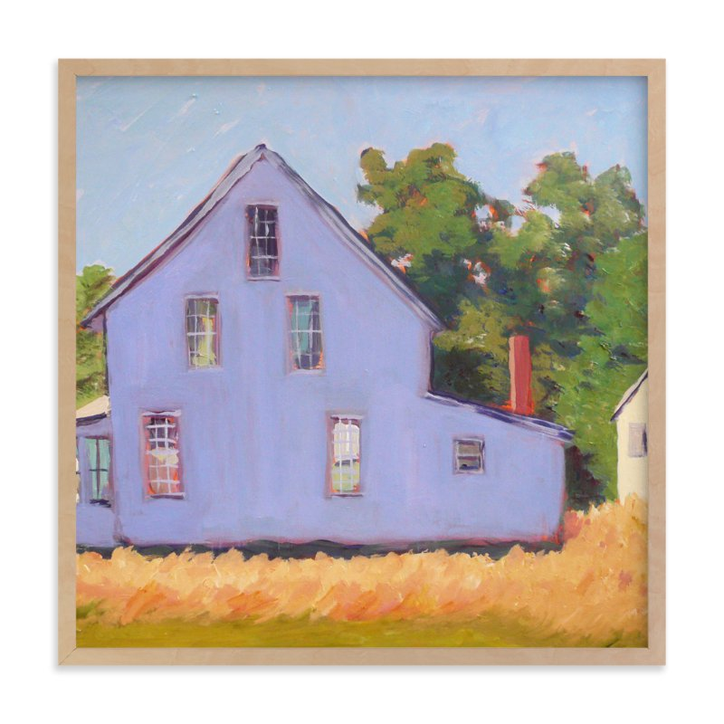 """Corner Farm House"" - Limited Edition Art Print by Carol C. Young in beautiful frame options and a variety of sizes."