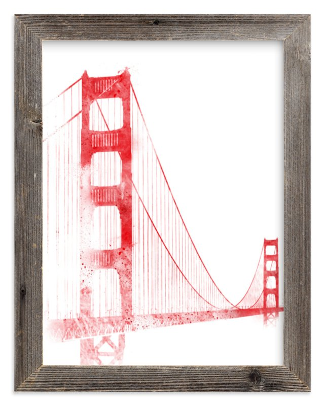 """""""Iconic"""" - Limited Edition Art Print by Paul Berthelot in beautiful frame options and a variety of sizes."""