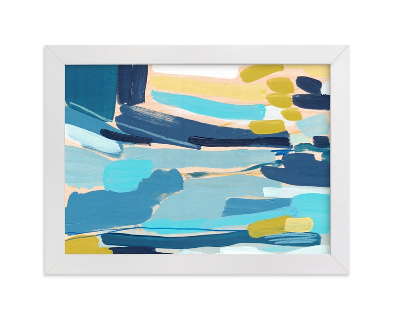 """""""Flatlands"""" - Limited Edition Art Print by Katie Craig in beautiful frame options and a variety of sizes."""