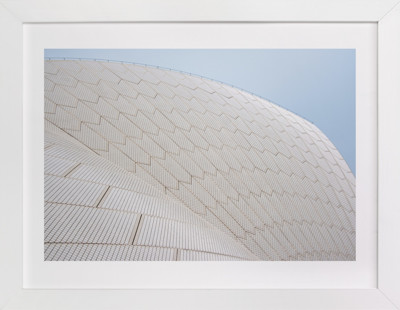 Opera Geometry Art Print