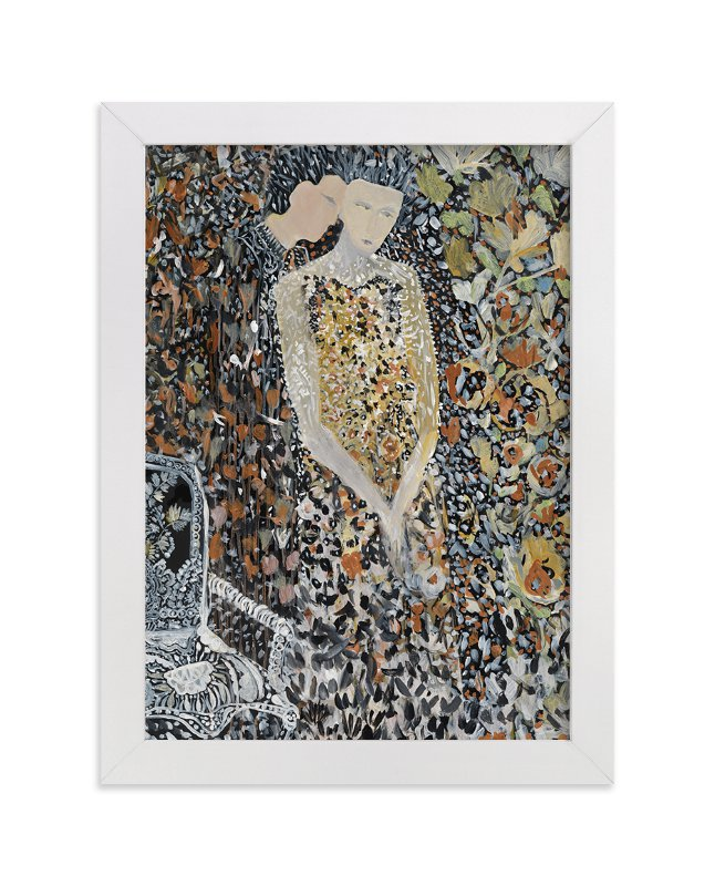 """""""Enmeshed"""" - Limited Edition Art Print by marcia biasiello in beautiful frame options and a variety of sizes."""
