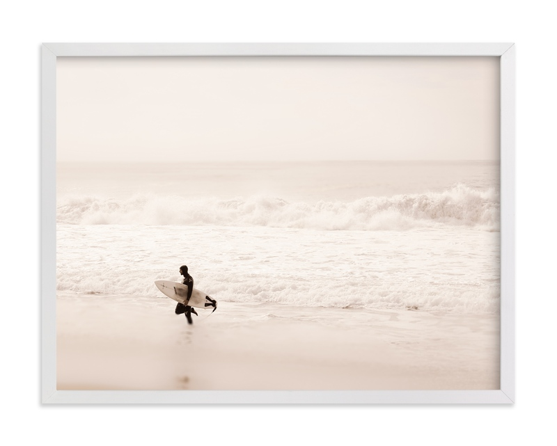 """Tranquil Surf"" - Limited Edition Art Print by Shannon Howard in beautiful frame options and a variety of sizes."