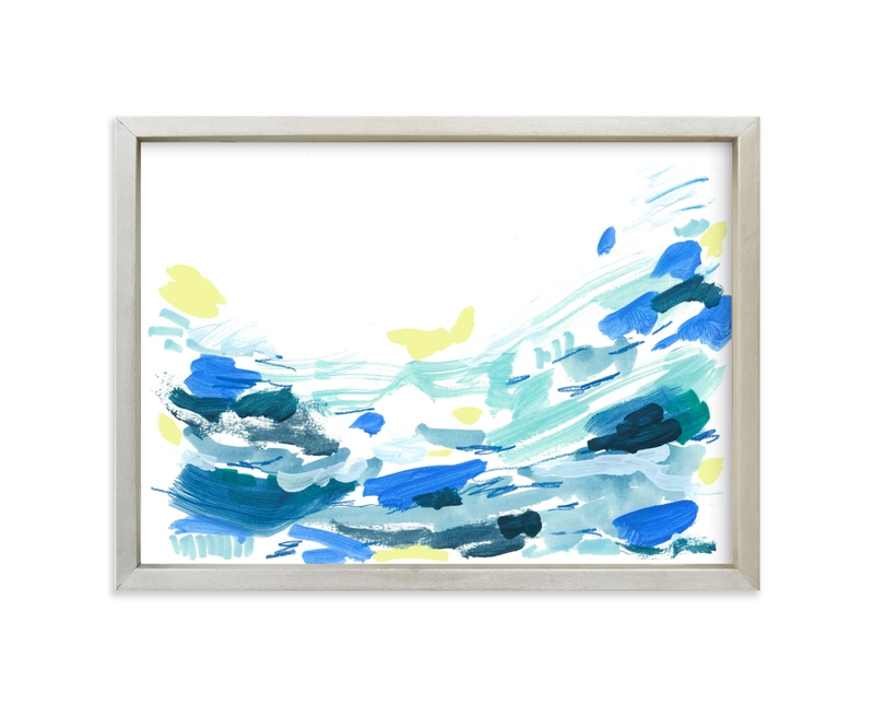 """Ocean Water Landscape"" - Limited Edition Art Print by Katie Craig in beautiful frame options and a variety of sizes."