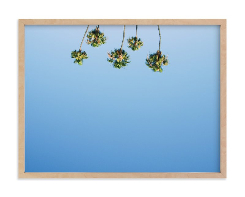 """""""Upside"""" - Limited Edition Art Print by Kitty Seeber in beautiful frame options and a variety of sizes."""