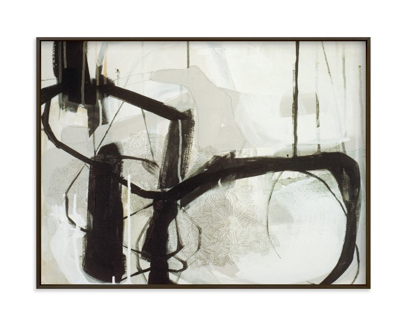 """""""Abstract Untitled 1"""" - Limited Edition Art Print by Kirsta Niemie Benedetti in beautiful frame options and a variety of sizes."""