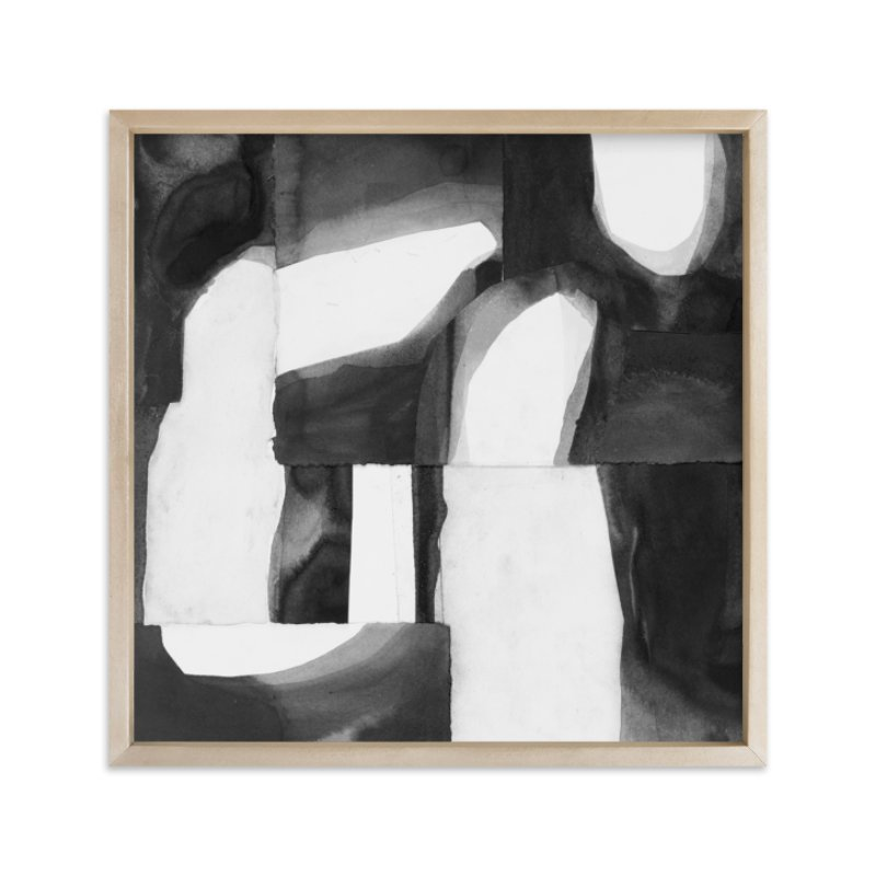 """""""Construct 1"""" - Limited Edition Art Print by Ashleigh Ninos in beautiful frame options and a variety of sizes."""