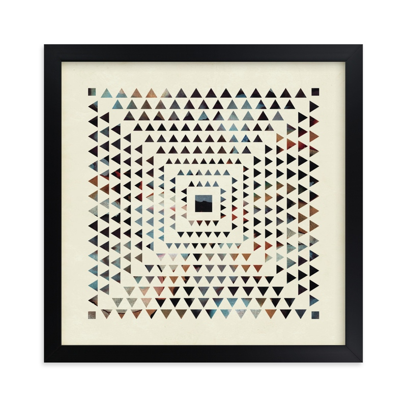 """""""Angled Rays"""" - Limited Edition Art Print by Jennifer Morehead in beautiful frame options and a variety of sizes."""