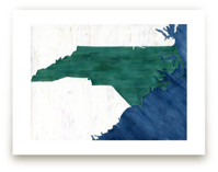 North Carolina in Paint
