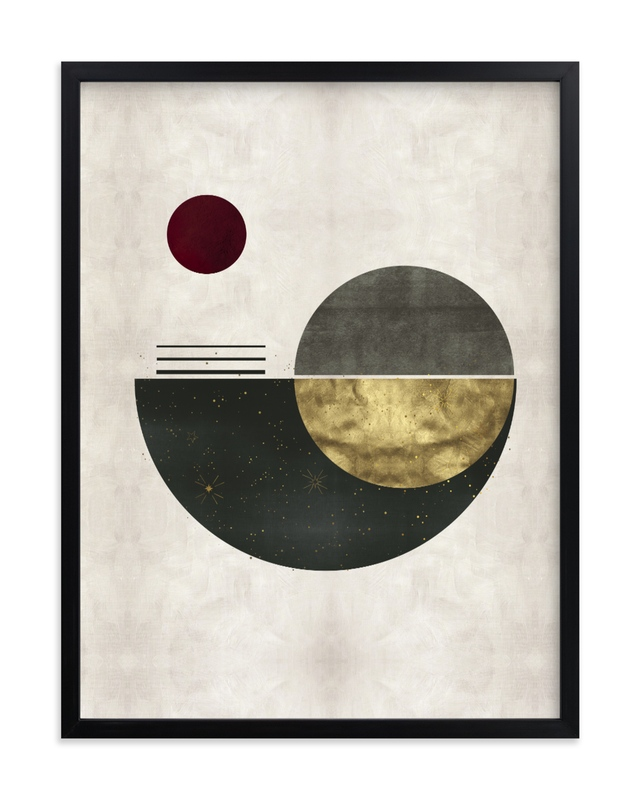"""The Eclipse"" - Limited Edition Art Print by Faiza Khan in beautiful frame options and a variety of sizes."