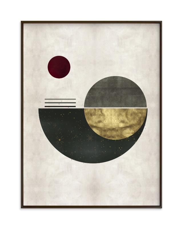 The Eclipse Art Print