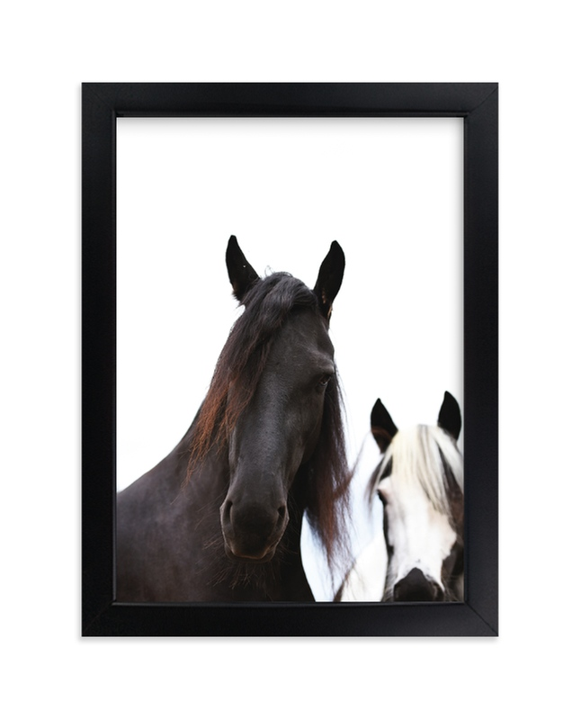 """Heathcliff + Lockwood"" - Limited Edition Art Print by Amy Carroll in beautiful frame options and a variety of sizes."