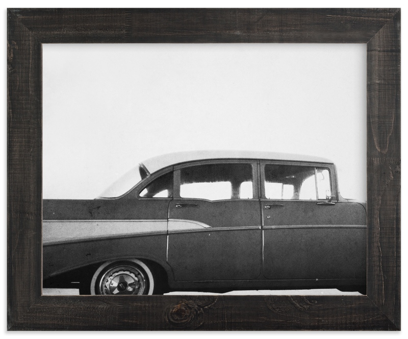 """""""Classic car."""" - Limited Edition Art Print by Dawn Smith in beautiful frame options and a variety of sizes."""
