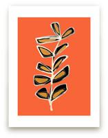 Modern Stem No. 3 on Orange Spice