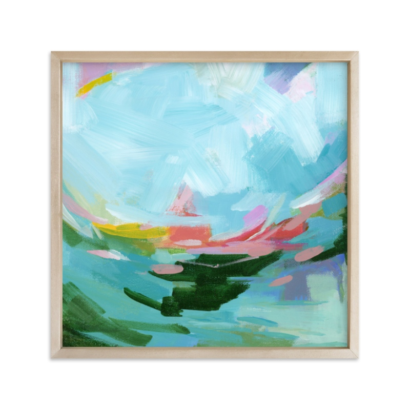 """""""Swell"""" - Limited Edition Art Print by sue prue in beautiful frame options and a variety of sizes."""