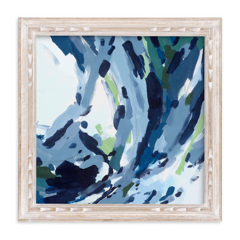 """""""Verdant Wave """" - Limited Edition Art Print by Katie Craig in beautiful frame options and a variety of sizes."""