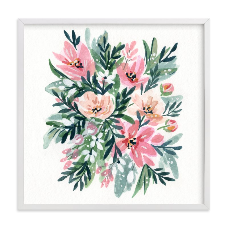 """""""50s Paperwhites"""" - Limited Edition Art Print by Natalie Malan in beautiful frame options and a variety of sizes."""