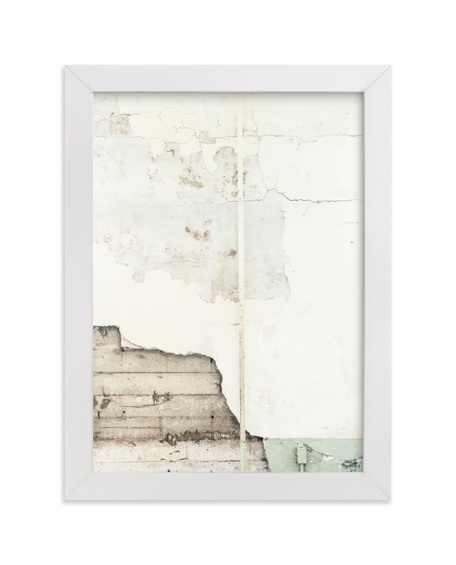 """baisse blanc"" - Limited Edition Art Print by Kamala Nahas in beautiful frame options and a variety of sizes."