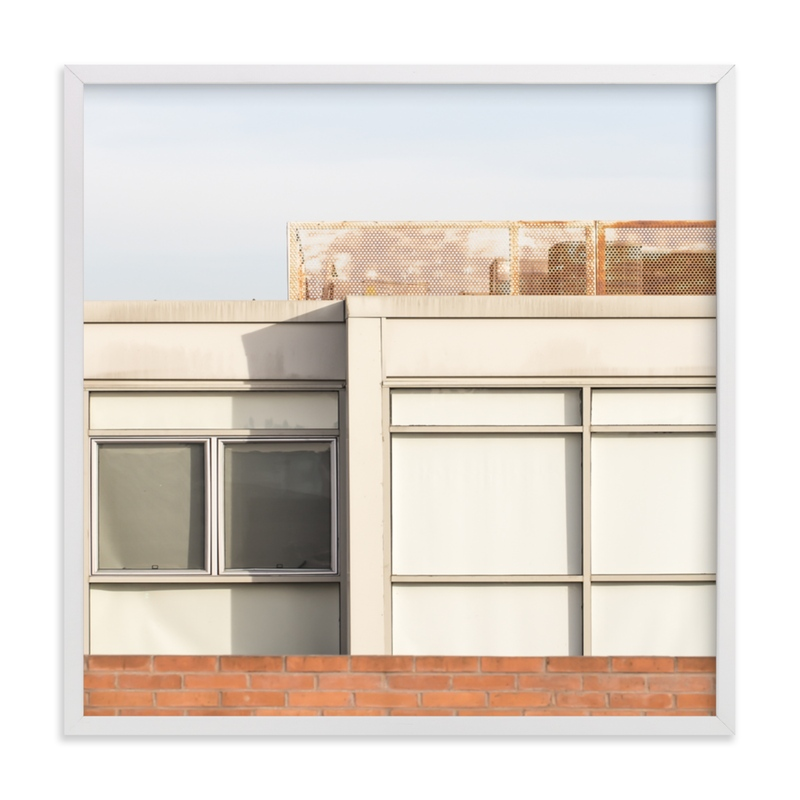 """City squares 1"" - Limited Edition Art Print by Lisa Sundin in beautiful frame options and a variety of sizes."